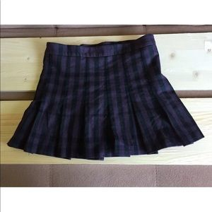 Burberry brit wool pleated skirt 6